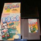 Dig Dug II - Nintendo NES - Complete CIB - Rare