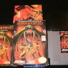 Swords & Serpents - Nintendo NES - Complete CIB