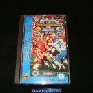 NFL Greatest Teams - Sega CD - Complete CIB