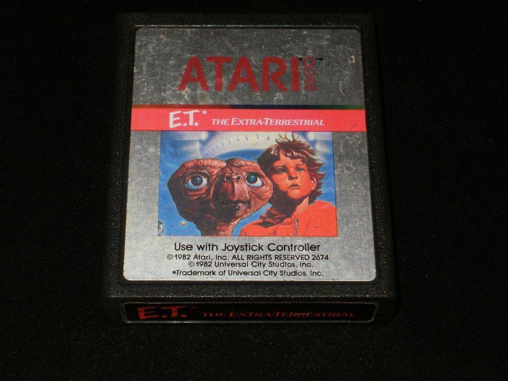 E.T. the Extra-Terrestrial - Atari 2600