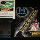 Super Challenge Baseball - Atari 2600 - Complete CIB