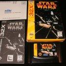 Star Wars Arcade - Sega 32X -Complete CIB