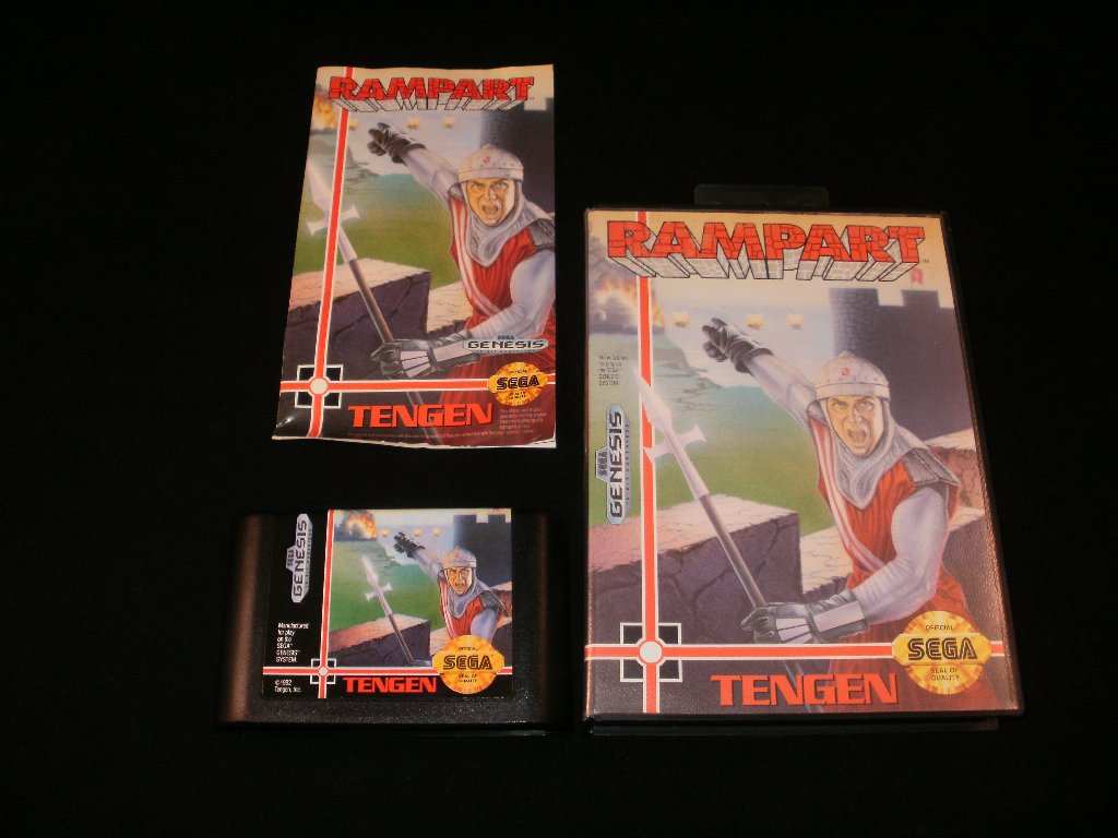 Rampart - Sega Genesis - Complete CIB