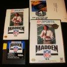 Madden NFL 94 - Sega Genesis - Complete CIB