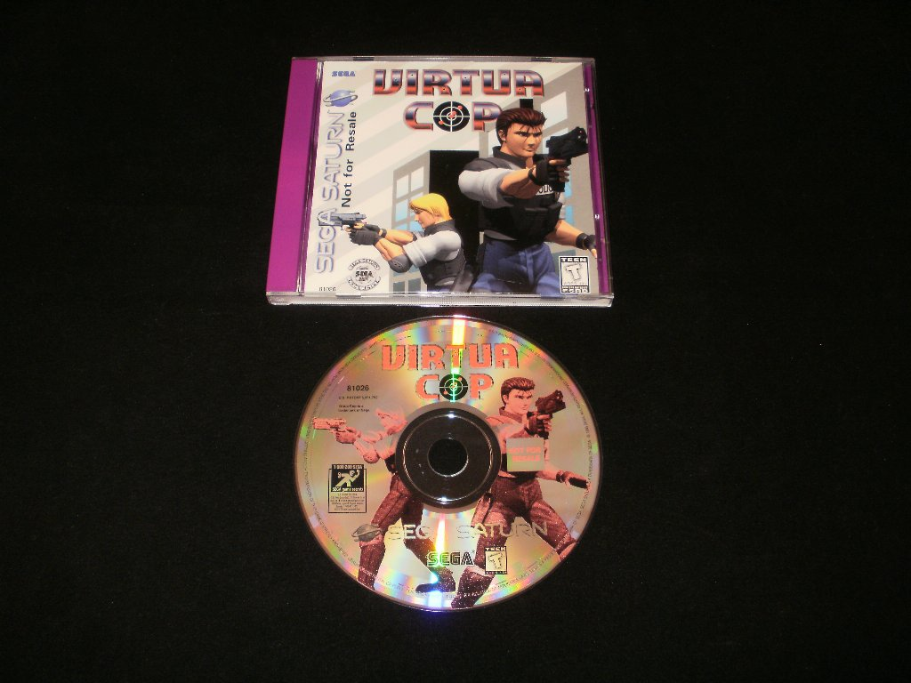 Virtua Cop - Sega Saturn - Not For Sale Version