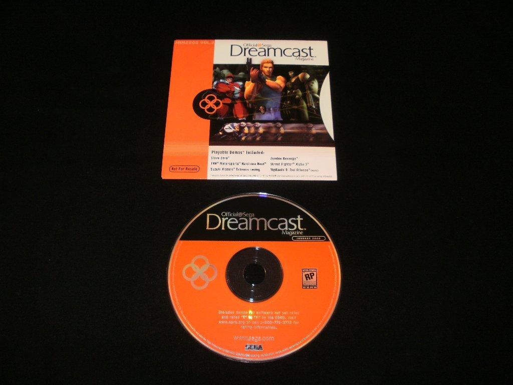 Official Sega Dreamcast Magazine Vol. 3 - Sega Dreamcast