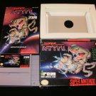 Super R-Type - SNES Super Nintendo - Complete CIB