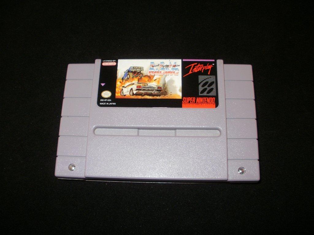 Radical Psycho Machine Racing - SNES Super Nintendo