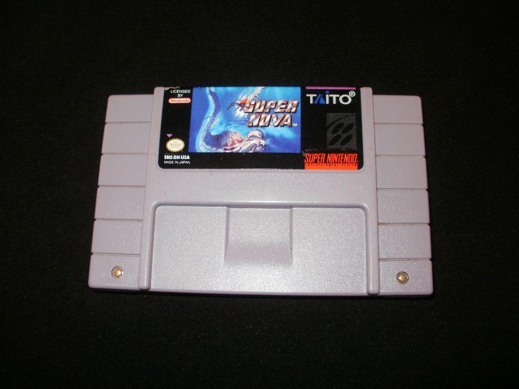 Super Nova - SNES Super Nintendo - Uncommon
