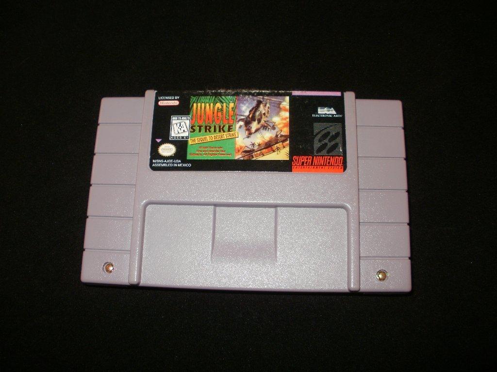 Jungle Strike - SNES Super Nintendo