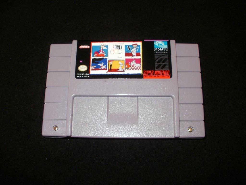 Family Dog - SNES Super Nintendo