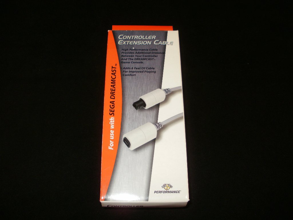 Performance Controller Extension Cable - Sega Dreamcast - Brand New, Never Used