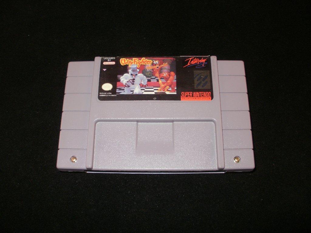 Clay Fighter - SNES Super Nintendo
