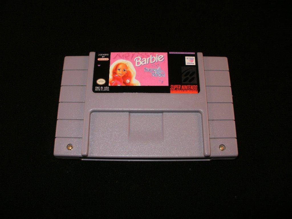 Barbie Super Model - SNES Super Nintendo