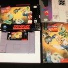 Earthworm Jim 2 - SNES Super Nintendo - Complete CIB