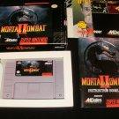 MORTAL KOMBAT II - SNES Super Nintendo - Complete