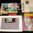 Looney Toons ACME Animation Factory - SNES Super Nintendo - With Box & Pamphlets