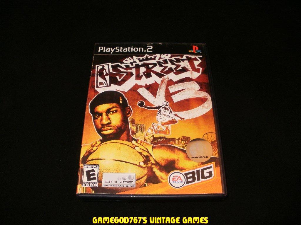 NBA Street Vol 3 - Sony Playstation 2 - Complete CIB