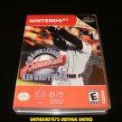 Major League Baseball Featuring Ken Griffey Jr - N64 Nintendo - With Manual & Custom Case
