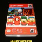 South Park - N64 Nintendo - With Manual & Custom Case