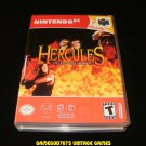 Hercules - N64 Nintendo - With Manual & Custom Case