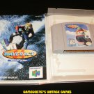 Wave Race 64 - N64 Nintendo - With Manual & Custom Case