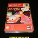 South Park Chef's Luv Shack - N64 Nintendo - With Manual & Custom Case