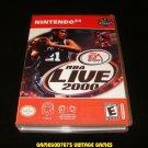 NBA Live 2000 - N64 Nintendo - With Manual & Custom Case