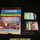 Atlantis - Mattel Intellivision - With Box & Overlay