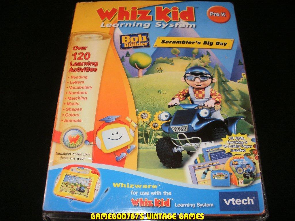 Bob the Builder - Vtech Whiz Kid Learning System - Brand New