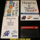 Hang On & Safari Hunt - Sega Master System - Complete CIB