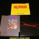 Dr. Mario - Nintendo NES - With Cartridge Sleeve & Manual