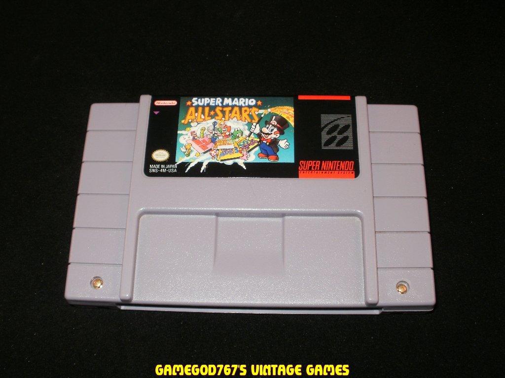 Super Mario All Stars - SNES Super Nintendo