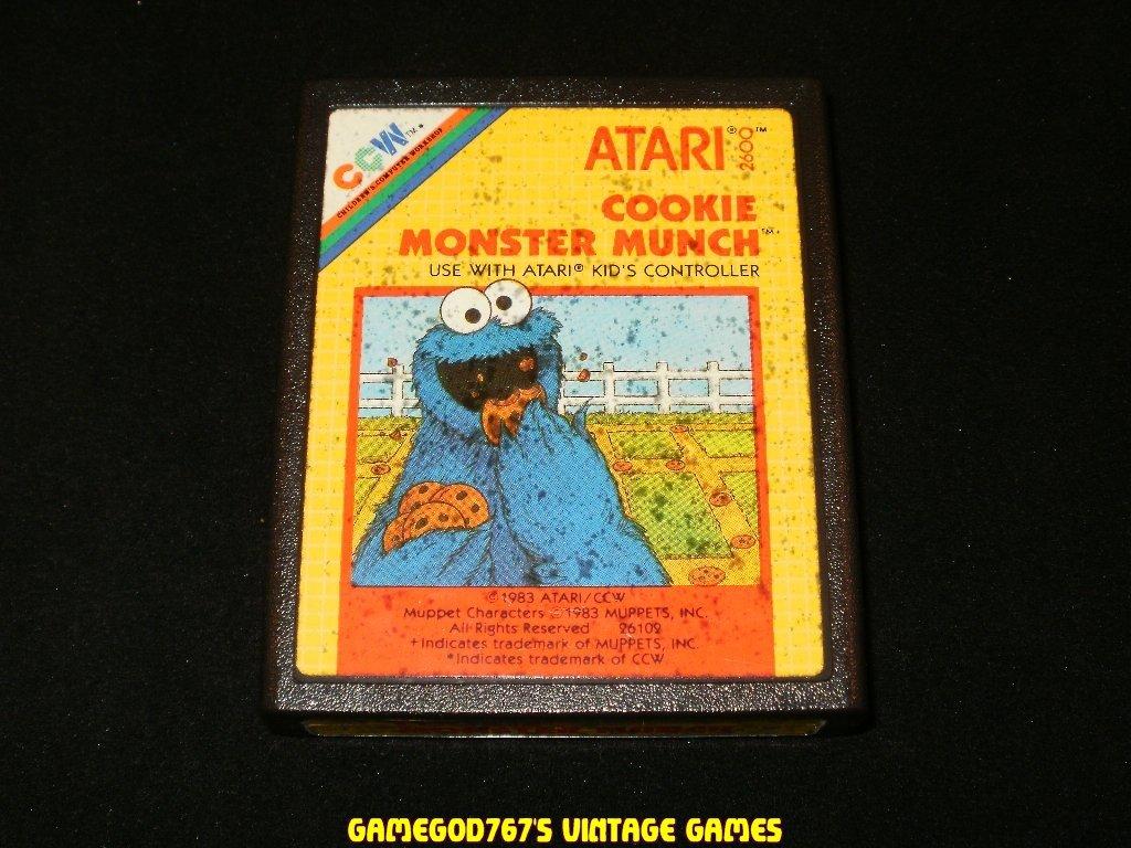 Cookie Monster Munch - Atari 2600