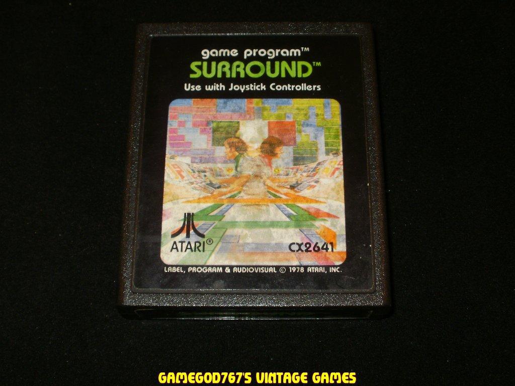 Surround - Atari 2600 - Picture Label Version