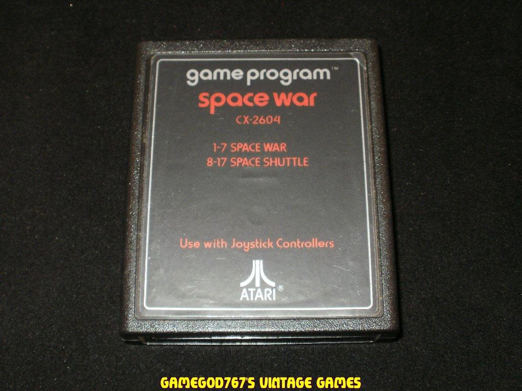 Space War - Atari 2600 - Text Label