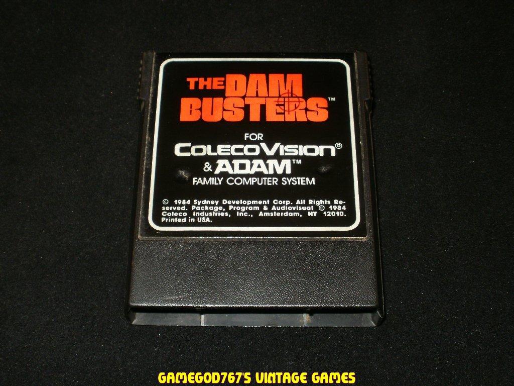 Dam Busters - Colecovision - Rare