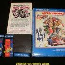 Auto Racing - Mattel Intellivision - Complete CIB