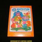 Math Fun - Mattel Intellivision - Complete CIB - Rare