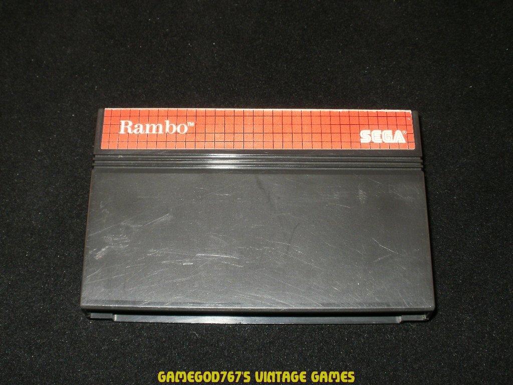 Rambo - Sega Master System