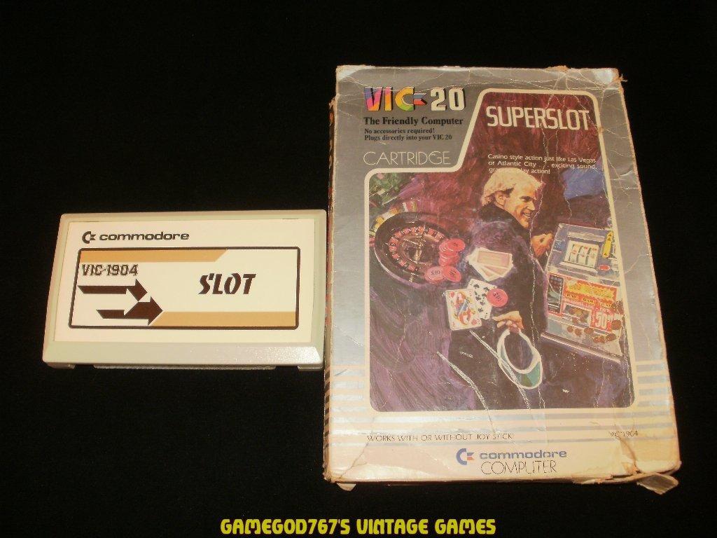 Super Slot - Commodore VIC-20 - With Box