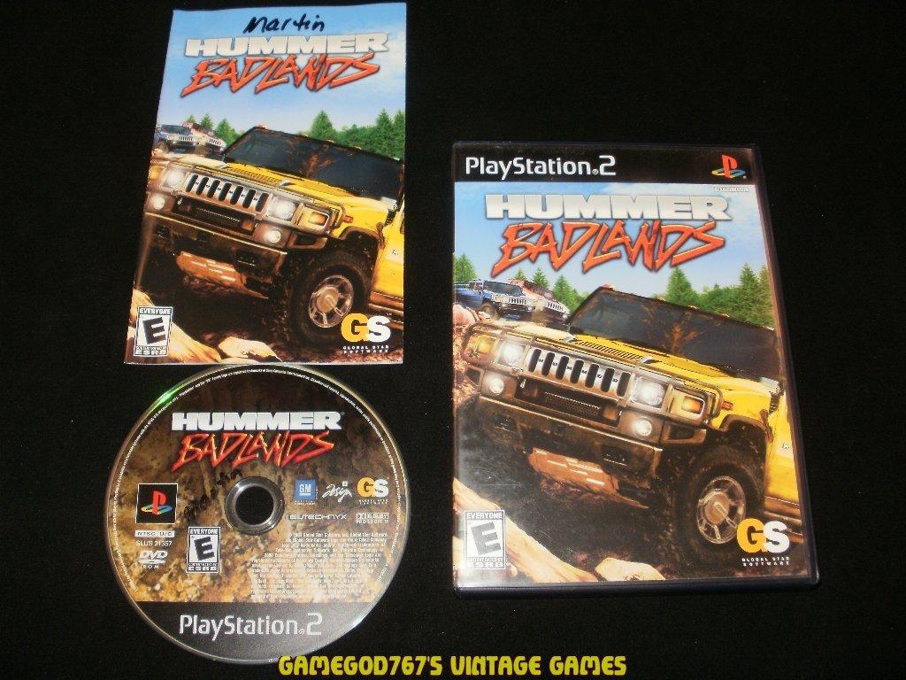 Hummer Badlands - Sony PS2 - Complete CIB