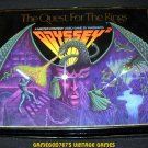 Quest for the Rings - Magnavox Odyssey 2 - Near Complete (Missing 2 Pieces) - Rare