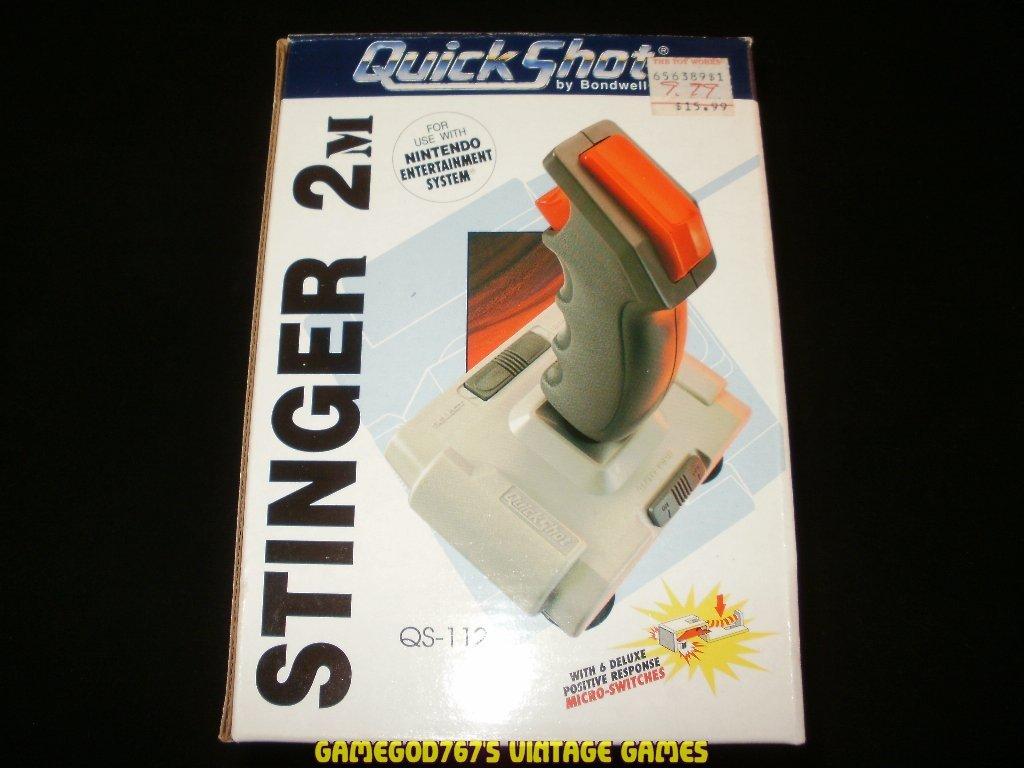 QuickShot Stinger 2M Joystick - Nintendo NES - New