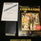 Commando - Mattel Intellivision - Complete CIB - Rare