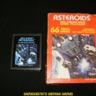 Asteroids - Atari 2600 - With Box