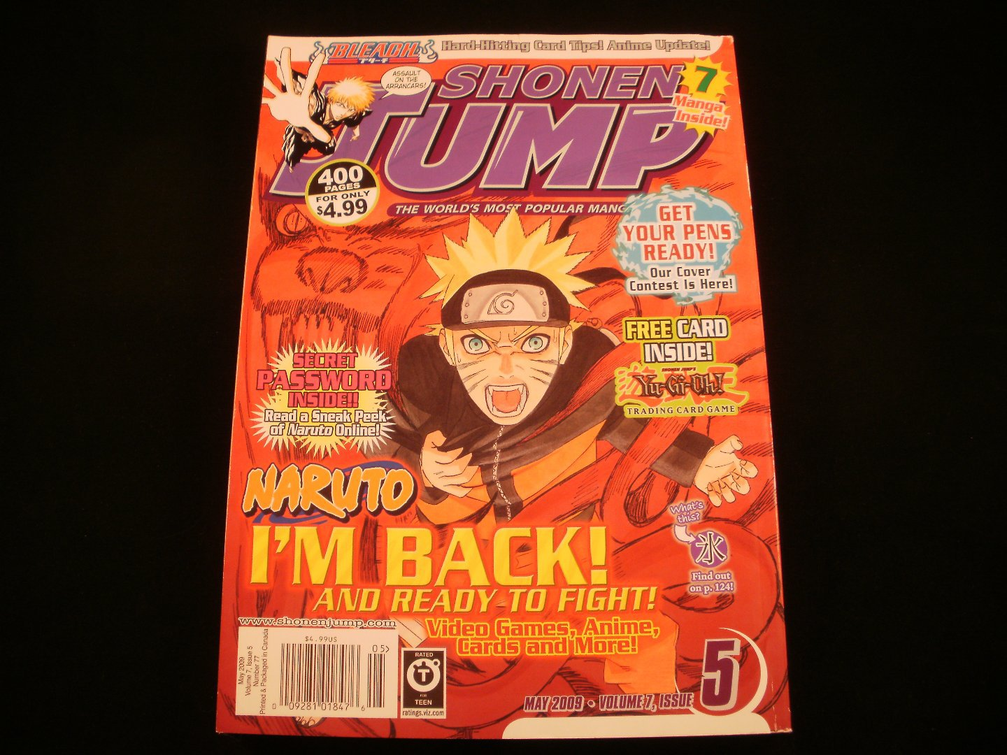 Shonen Jump - May 2009 - Volume 7, Issue 5, Number 77