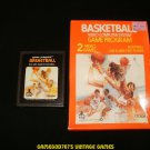 Basketball - Atari 2600 - With Box