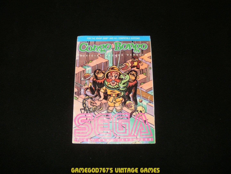 Congo Bongo - Atari 2600 - Manual Only