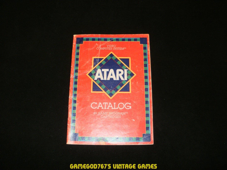 Atari 1981 Catalog - Revision D